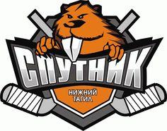 Sputnik Nizhny Tagil Primary Logo (2013) - Present. Is it okay to say a hockey logo is cute?