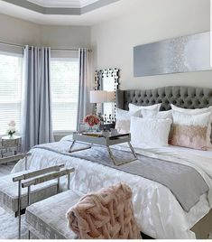 Dream Home – Home Decor – Bedroom Inspirations Decor Room, Home Decor Bedroom, Bedroom Furniture, Ikea Bedroom, Bedroom Country, Furniture Makeover, Master Bedroom Makeover, Master Bedroom Decorating Ideas, Model Home Decorating