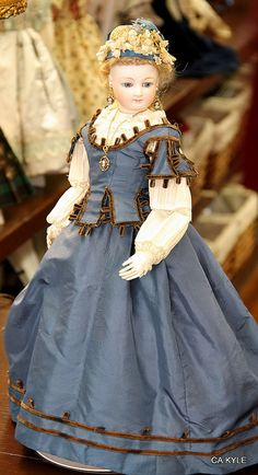 French Fashion Doll. Maker Unknown.