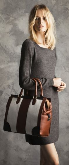 "Daria Strokous in Massimo Dutti's November 2011 Lookbook Titled ""Winter Days"""