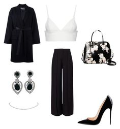 """""""Sin título #180"""" by jocelin-cra on Polyvore featuring moda, Givenchy, Miss Selfridge, T By Alexander Wang, Ciner y Kate Spade"""