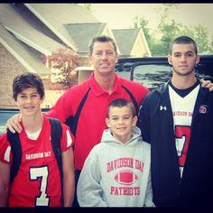 Nash Grier,Chad Grier(Nash's dad),Hayes Grier,Will Grier