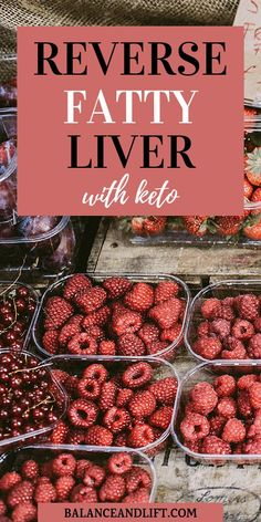 How to Reverse Fatty Liver With Keto- Fatty liver can be scary. Thankfully there are ways to reverse fatty liver through diet and exercise. Check out how keto can help reverse fatty liver.