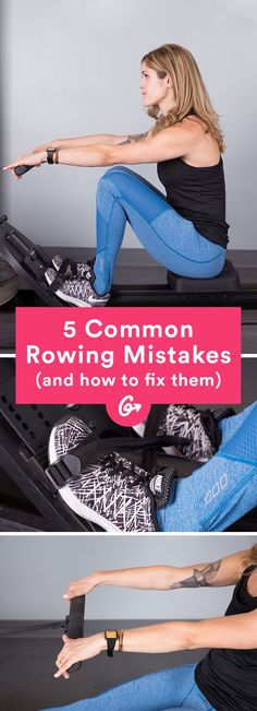 The Fix: Hold the oar with 3 fingers. #rowing #cardio #exercise http://greatist.com/move/how-to-use-a-rowing-machine