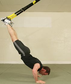 The one piece of fitness equipment that I actually like (to hate). TRX...try it.