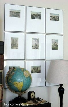 vacation photos and ideas postcard gallery wall
