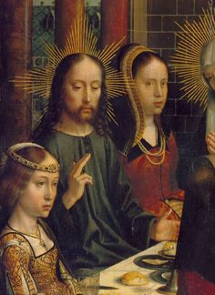 Gerard David, The Marriage at Cana (detail), ca. 1503, Musée du Louvre