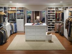 Boutique-Inspired Closets | Home Remodeling - Ideas for Basements, Home Theaters & More | HGTV