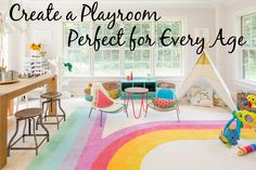 6 Tips to Create the Perfect Playroom For Any Age - Project Nursery