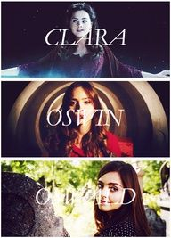 Clara Oswin Oswald. I'm really excited to see how the rest of this season plays out.