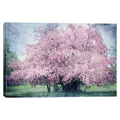 Canvas print of a crabapple tree by artist Dawne Polis.  Product: Wall artConstruction Material: Cotton canvas and woodFeatures: Crabapple by Dawne Polis