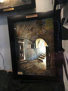 3d Frames, Artwork For Home, Mixed Media Art, Mosaics, Ali, Landscapes, Hobbies, Mirror, Artist