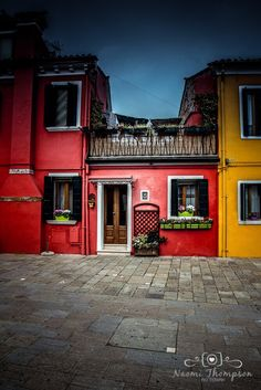 Colourful sights of Burano, Venice. Italy. Travel photography with hidden surprises.
