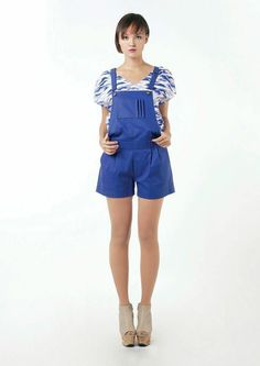 Linda Mai Phung - Cloud Shirt Overall Shorts, Cloud, Overalls, Rompers, Store, Shirts, Shopping, Dresses, Women