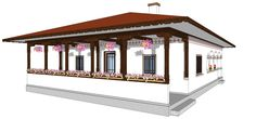 Romanian house Concept Home, Design Case, Traditional House, Homesteading, Gazebo, House Plans, Exterior, Outdoor Structures, House Design