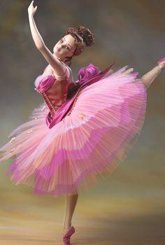 Barbie Bailarina . Inspirada en las pinturas de Degas. Muy linda creación