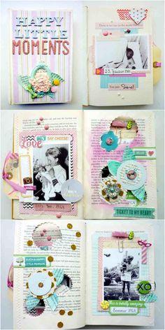 Altered Book von Anke Kramer |www.danipeuss.de