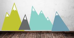 Moving Mountains- LARGE WALL DECAL – The Lovely Wall Company