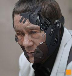 """留园网-Cyborg是男人的浪漫:将北野武""""雷电""""化 (99图) -6park.com"""