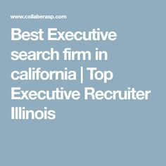 Hire best executive search firm in Chicago for your executive search. Collabera is the top Executive recruiter illinois, San Francisco, & Silicon Valley. Executive Search, Executive Recruiters, Illinois, Chicago, California, Top, Crop Shirt, Shirts