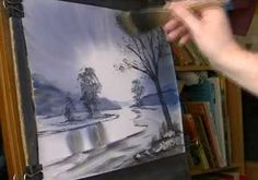 Loch Goil Watercolour Painting Lesson Part 2 - Video Lessons of Drawing & Painting