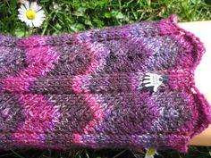 7 Besten Zackenrand Bilder Auf Pinterest Knit Socks Sock Knitting