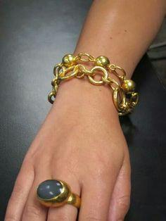 Gurhan ring and bracelet