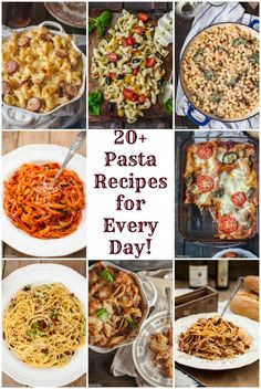 Short on time? Quick, delicious and inexpensive pasta comes to the rescue!