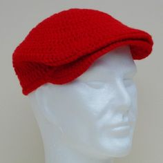 ✔Bob Wilson 123 ~ crochet cast of crew cap ~ visit http://www.bobwilson123.org/hats.html for free pdf pattern instructions