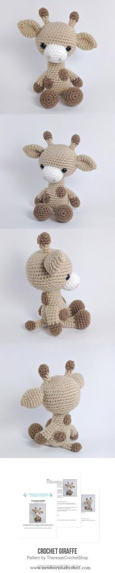 Baby Knitting Patterns Crochet Giraffe Amigurumi Pattern                           ...