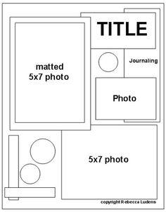 8.5 x 11 layout