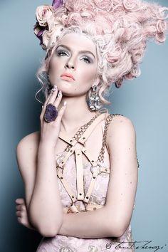 Passion For Dark & Light — Modern Day Marie Antoinette Vogue Editorial, Editorial Fashion, Rococo Fashion, Vogue India, Glamour, Fashion Design Sketches, Madame, Hair Art, Steampunk Fashion
