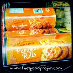 The Spooky Vegan: Trader Joe's Seasonal Vegan Pumpkin Items