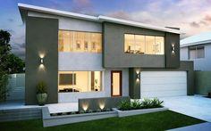 Bentuk Gambar Rumah Minimalis 2 Lantai 2015 » Terbaru 2014