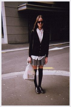 #style #stockings #buttonup #streetstyle