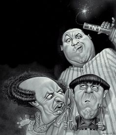 stooges | Caricatures - Groups & TV shows