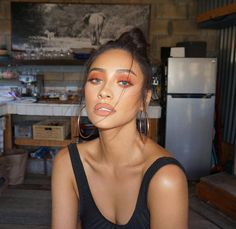 Feeling Peachy Makeup by ME Hair by @jesushair Queen @shaymitchell #makeupbyariel #shaymitchell