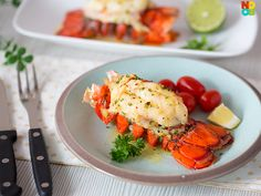 Perfect Baked Lobste
