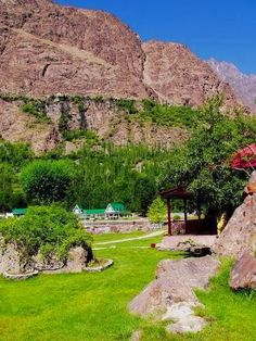 Colorful Shangri la, Skardu, Pakistan . . or this - - Well, here's another desired vacation spot that's no longer safe for Westerners right now.