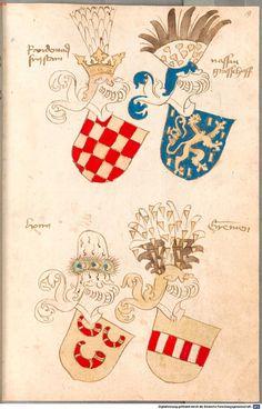Bruderschaftsbuch des jülich-bergischen Hubertusordens Niederrhein, um 1500 Cod.icon. 318  Folio 19r
