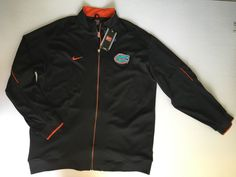 Nike Team Florida Gators Collegiate Football Training Jacket Sz XXL $95 | eBay