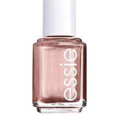 Nails: Not so sure about adding rose gold to your makeup routine just yet? Ease into the trend by swiping it on your nails first. Easier to approach than silver or gold, rose gold is similar to blush and looks pretty on both tips and toes. Try Essie nail polish in Penny Talk ($8.50, target.com).