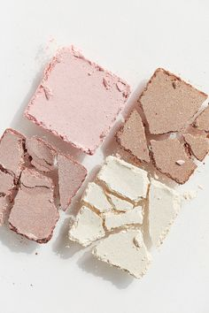 bh cosmetics nude rose highlighter palette