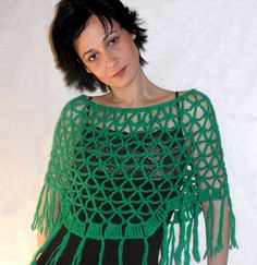make this. crochet poncho