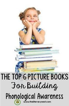 The Top 6 Picture Books For Building Phonological Awareness! Building phonological awareness for young readers is critical for early reading success. Try this children's books! Dyslexia Activities, Phonemic Awareness Activities, Comprehension Activities, Phonics Activities, Reading Activities, Reading Fluency, Reading Intervention, Teaching Reading, Kindergarten Reading