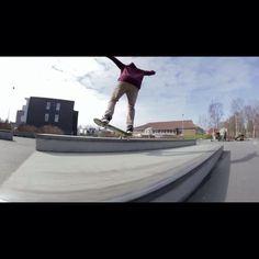 Instagram #skateboarding video by @matthines2002 - New edit on my YouTube channel. Link in bio. @smudcrew member @kimgbeyer puts down some quick tricks at Kverneland skatepark. #monumentskateboards #skate #skateboarding #skatelife. Support your local skate shop: SkateboardCity.co