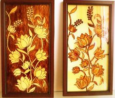 Elegant 50 Ultimate Glass Painting Designs You Must Check: Go Limitless Part 8