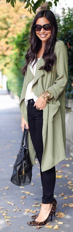 Pistachio Green Chic Trench by With Love From Kat
