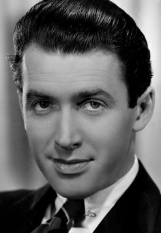 James Stewart. This is a terrific photo. He had this way of being cute, charming and handsome all at once.