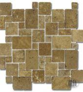 MS International MESQUITE MINI VERSAILLES Mosaic Hatch Tumbled Tile 12x12 $ 13.84 / Tile